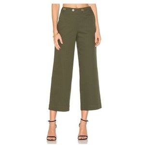 New Theory Namid Green Myrtle Washed Crop Chino 8